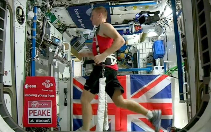 Cintas de correr para hacer maratones en el espacio