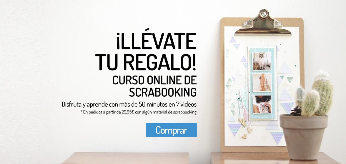 Taller online de scrapbooking gratis en I Do Proyect