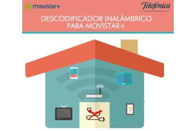 Movistar+ lanza descodificador inalámbrico