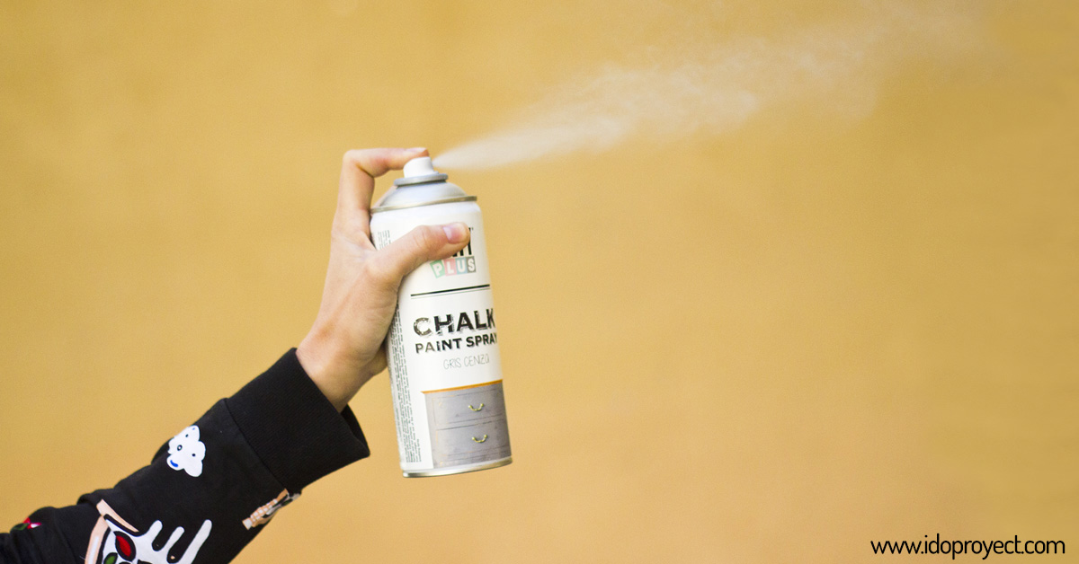 Pintura Chalk Paint en spray en I Do Proyect