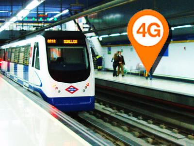 Orange ofrecerá 4G en el Metro de las principales ciudades españolas