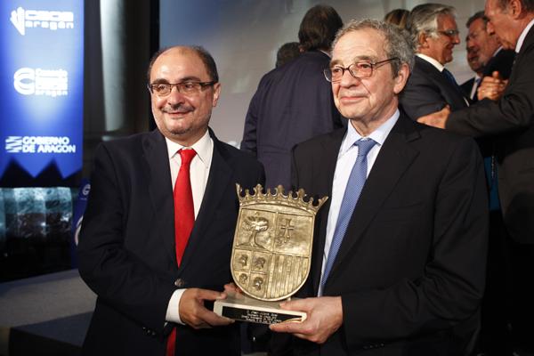 César Alierta, premio mejor empresario de Aragón
