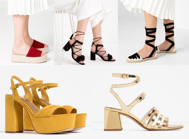 Los zapatos de Zara más vendidos este verano 2016