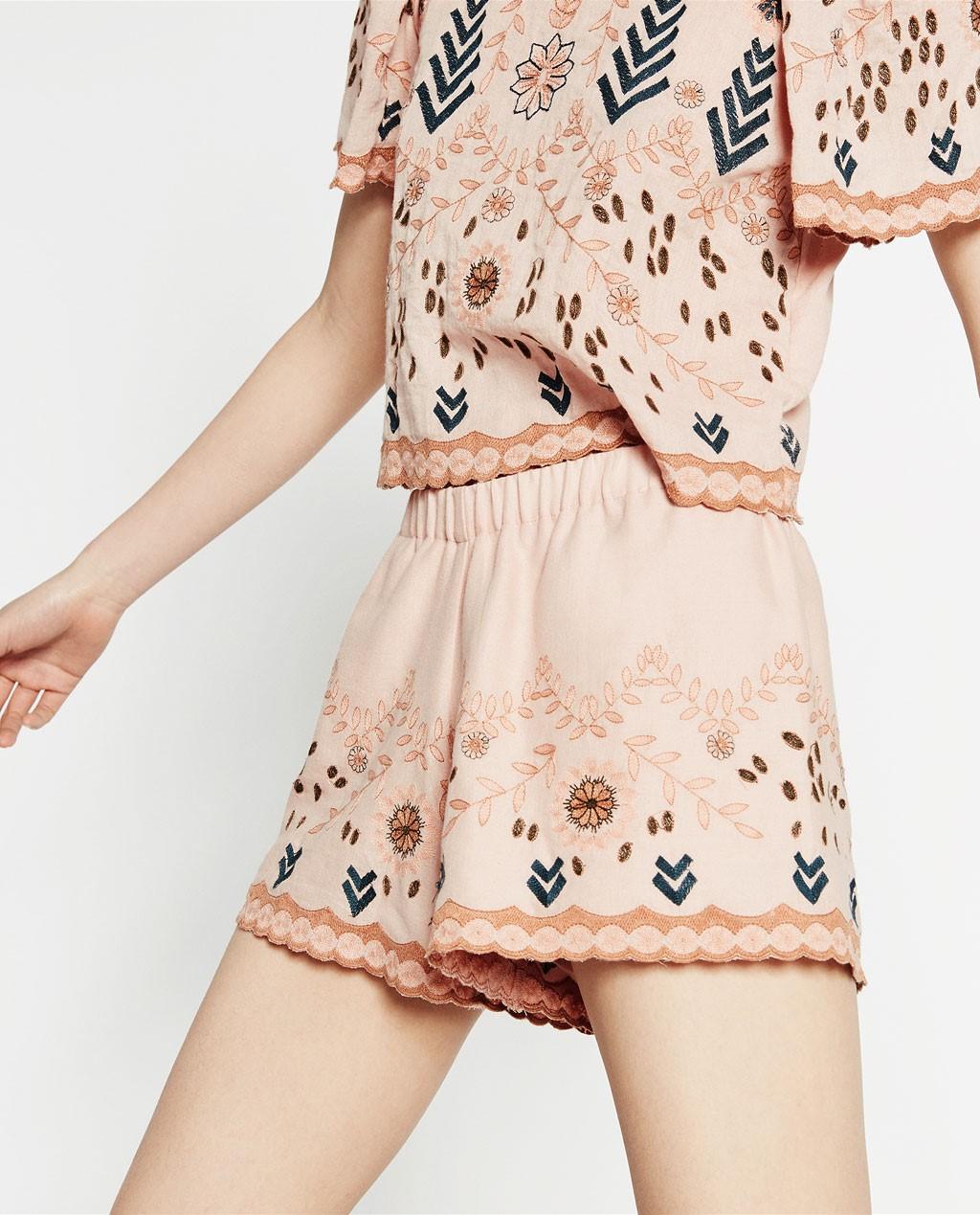 La moda Zara trae los shorts más refrescantes del verano 2016