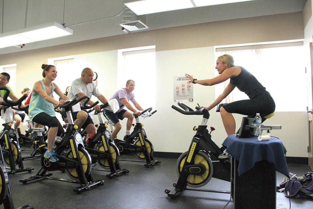 Actividades para bicicletas estáticas