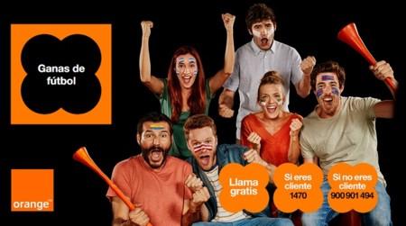 Orange ofrece en agosto todo el fútbol por 25€ al mes