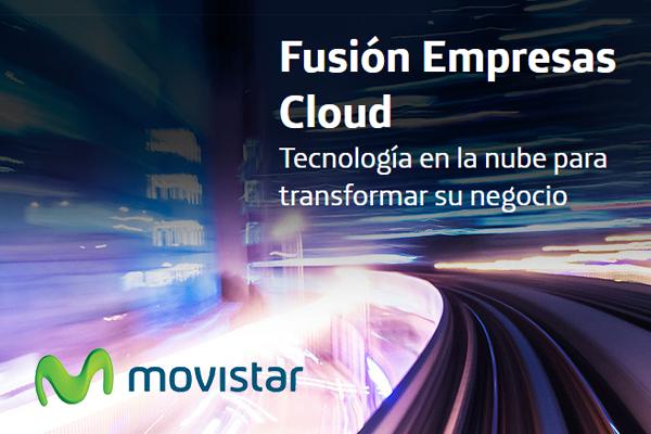 Movistar Fusión Empresas ofrece tecnología cloud y fibra simétrica para pymes
