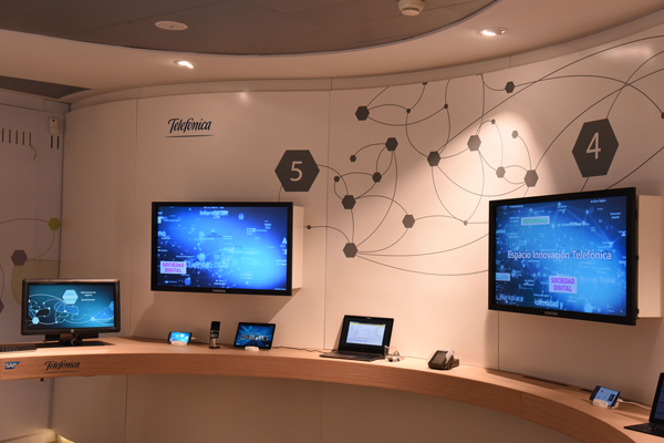 Telefónica abre Centro de Demostraciones sobre digitalización empresarial