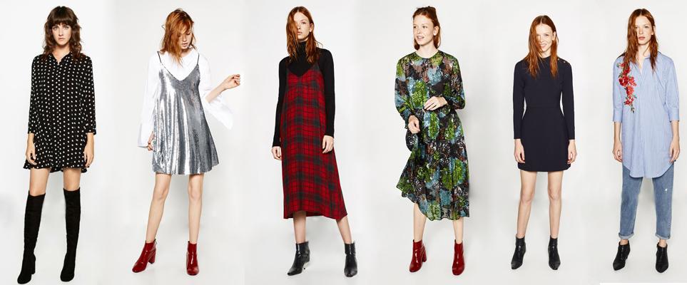 Nueva colección de vestidos de Zara otoño 2016