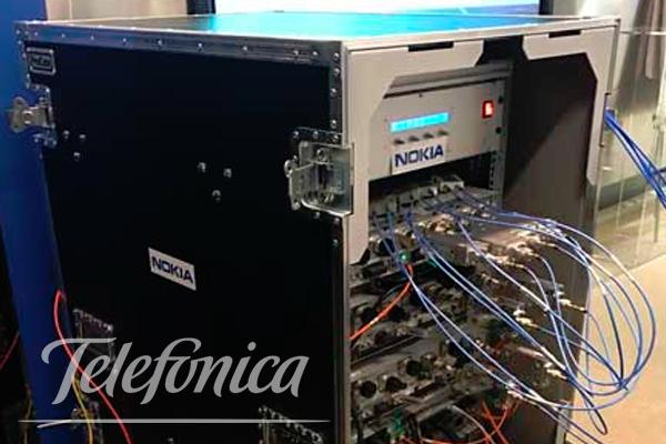 Telefónica alcanza velocidades de 800Mbps en su red 4G