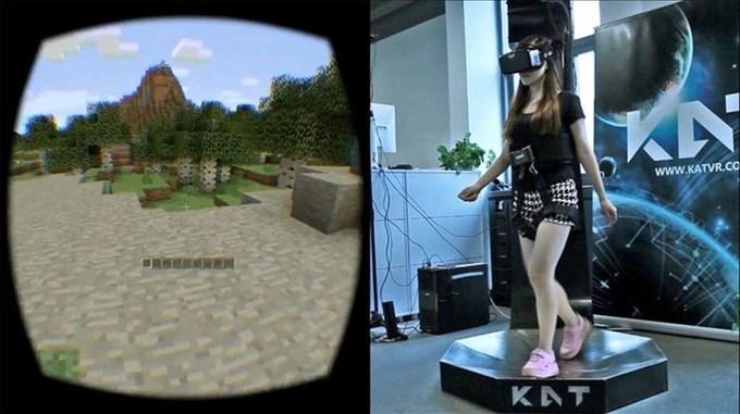 Kat Walk, la cinta de correr omnidireccional para realidad virtual