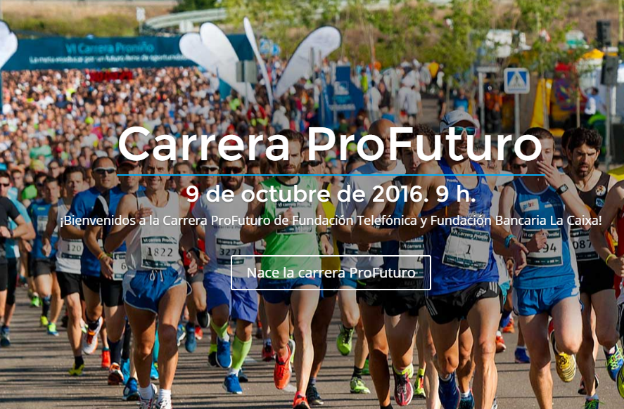 Este fin de semana se celebra la I Carrera ProFuturo con fines solidarios