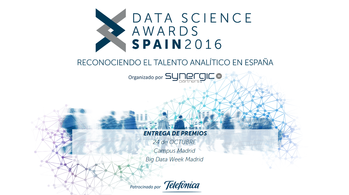 Telefónica premia las mejores iniciativas Big Data en España