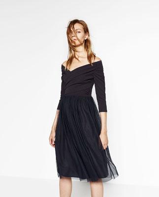 vestido de zara bailarina