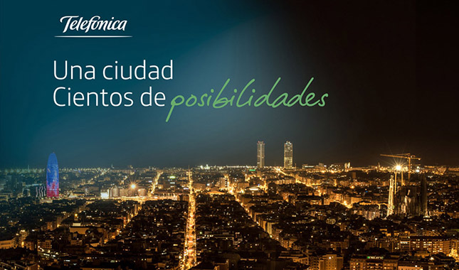 Telefónica estará presente en la Smart City Expo World Congress 2016