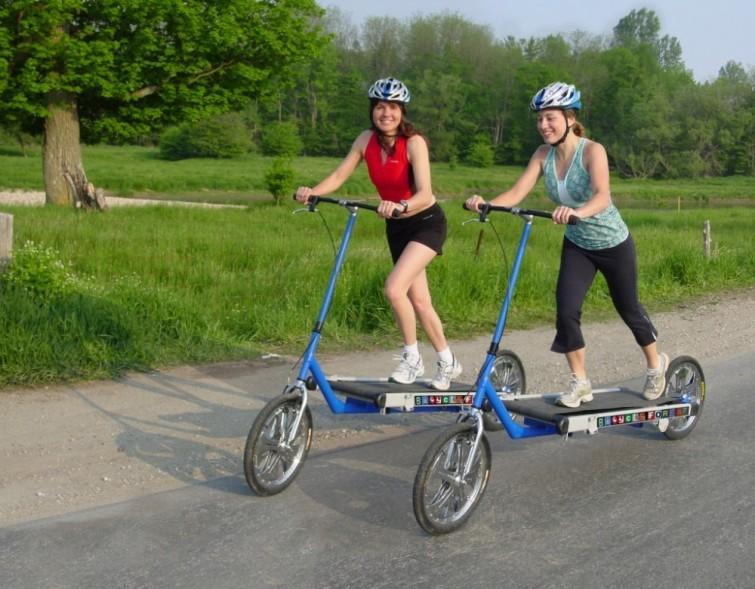 Cintacleta: la cinta de correr unida a una bicicleta