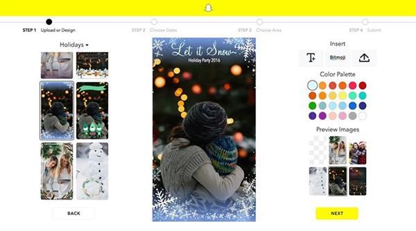 Snapchat crea nuevos filtros de temática navideña