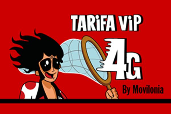 Pepephone mejora la tarifa Movilonia.com VIP 4G
