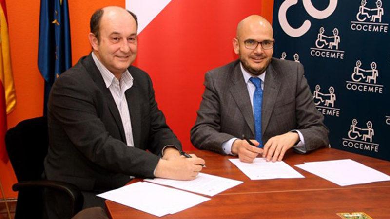 Fundación Vodafone y COCEMFE firman un convenio marco de colaboración