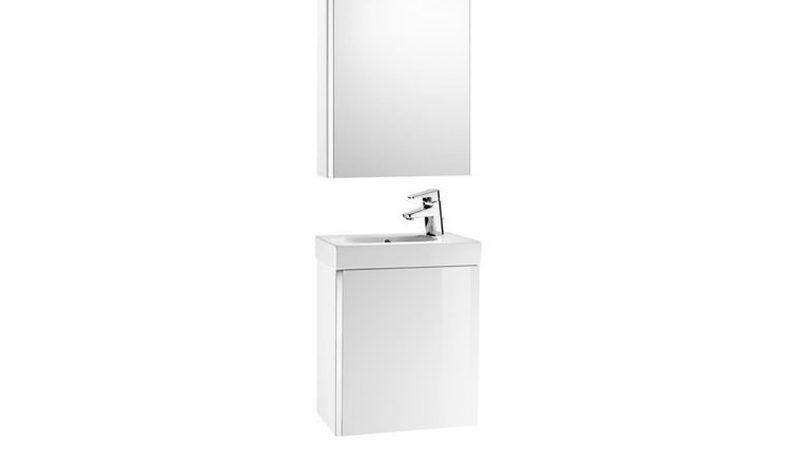 Muebles de baño para los aseos de cortesía