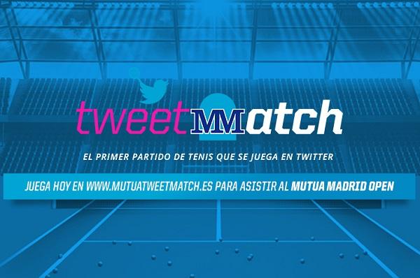 Mutua Madrileña lanza el primer torneo de tenis en Twitter