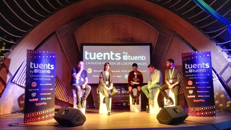Tuenti (Telefónica) presenta los Tuents, moneda para comprar en festivales de música