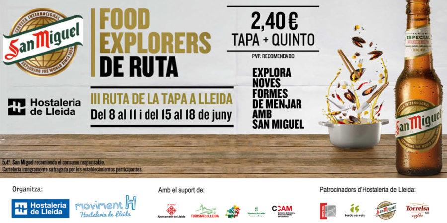Hoteles en Lleida para disfrutar de la III Ruta de la Tapa de Lleida