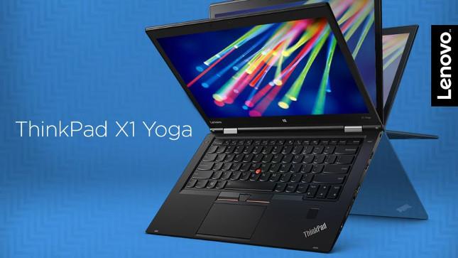 Lenovo renueva el ThinkPad X1 Yoga