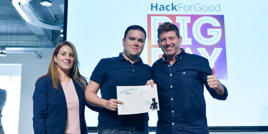 Telefónica premia con 8.000€ proyectos tecnológicos sociales