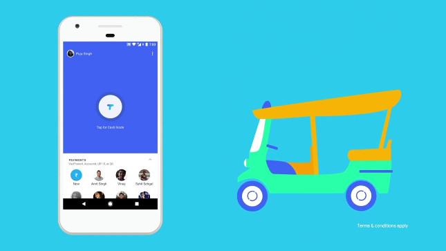 Tez de Google, exclusiva para India