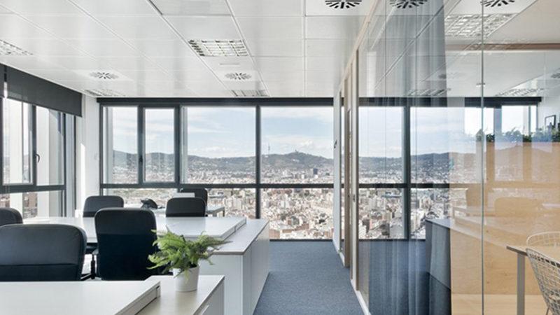 Reformas de oficinas en Madrid para hacerlas diáfanas