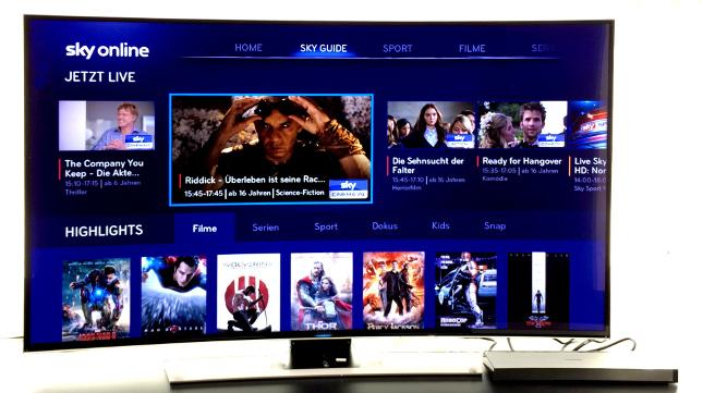 Sky ya está disponible para los televisores Smart TV de Samsung