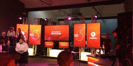 Vodafone presenta el nuevo espacio Esports Garage