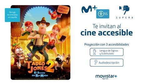 Movistar+ 5S acerca el entretenimiento a las personas con discapacidad visual y auditiva