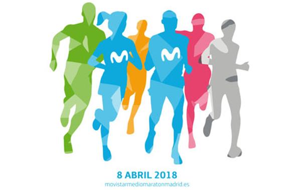 Movistar Medio Maratón de Madrid y Carrera ProFuturo 2018 reunirán a 25.000 atletas