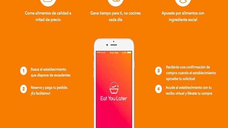 Eat for you, una aplicación para no tirar comida