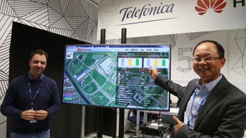 Telefónica y Huawei siguen avanzando hacia la conducción autónoma