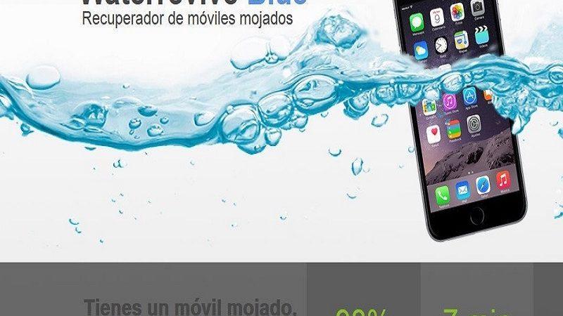 Waterrevive, el milagro español que repara los móviles mojados