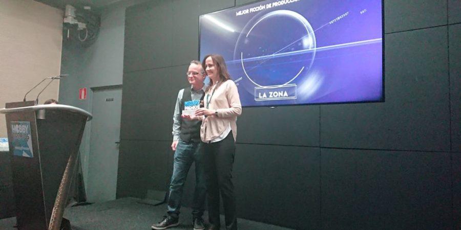 Movistar, reconocida en Hobby Premios 2018 por su producción propia 'La Zona'