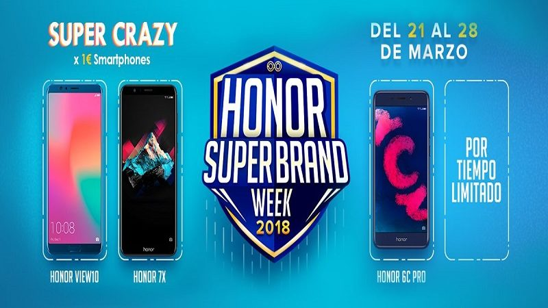Honor volverá a lanzar móviles a tan solo 1 euros hasta el 28 de marzo