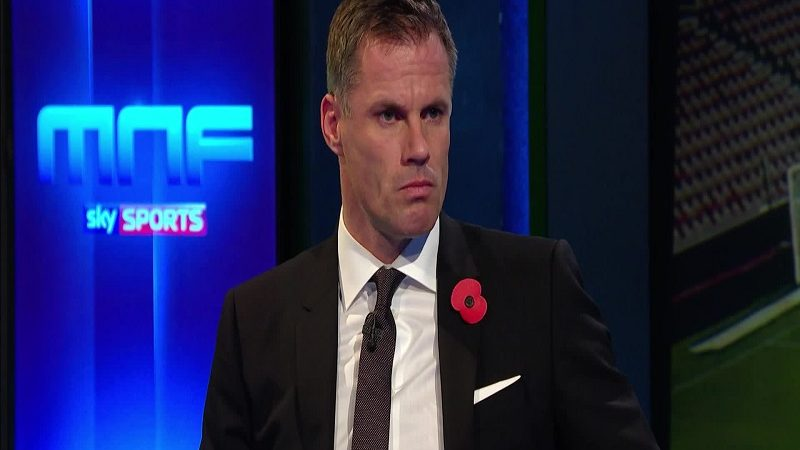 Jamie Carragher, suspendido por Sky Sports