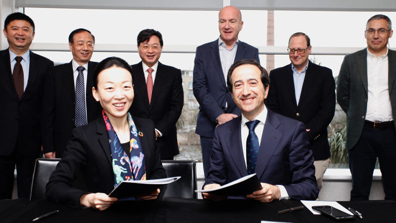 Telefónica y China Unicom se asocian para potenciar servicios IoT entre clientes empresariales