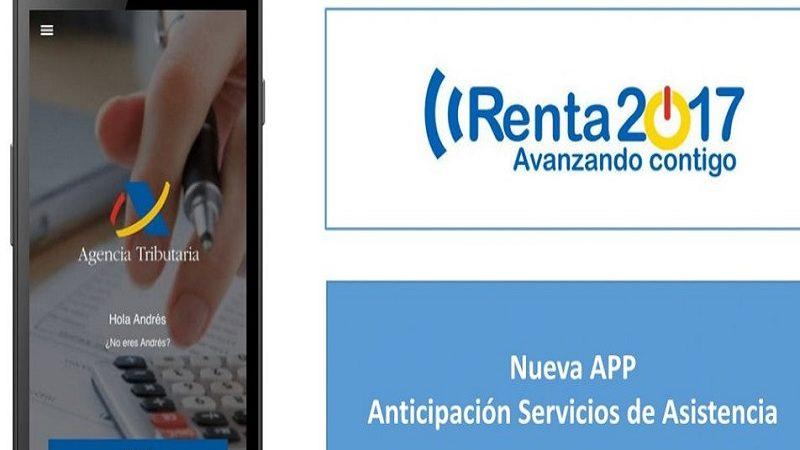 Nueva app de la Agencia Tributaria para realizar la declaración de la renta