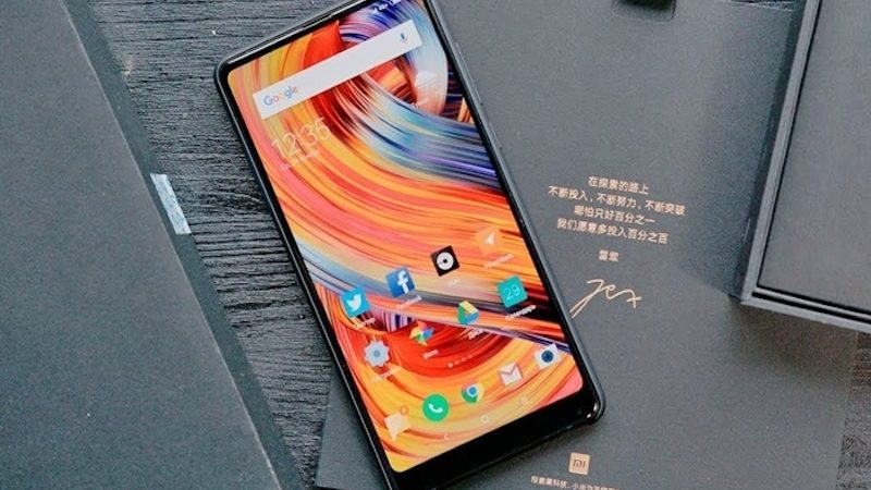 Vodafone ofrecerá en exclusiva el smartphone Xiaomi Mi Mix 2