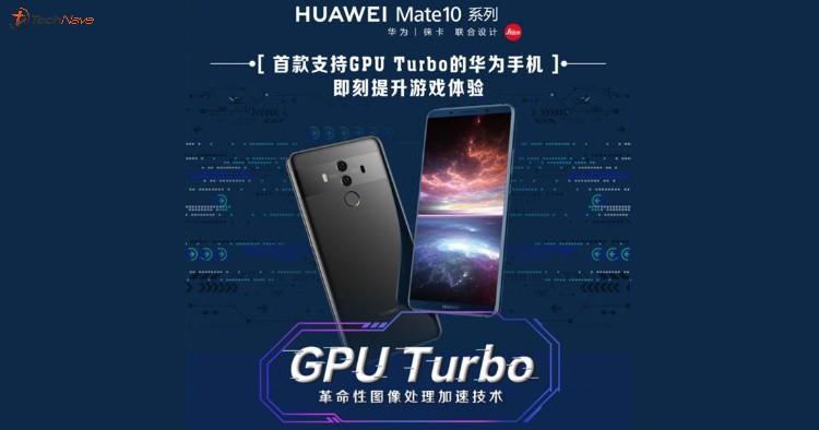 Dispositivos móviles Huawei incorporarán tecnología GPU Turbo