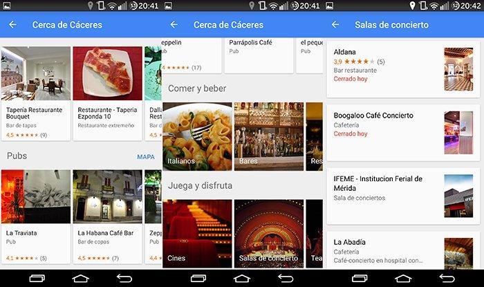 Google Maps sugiere dónde comer al gusto del usuario