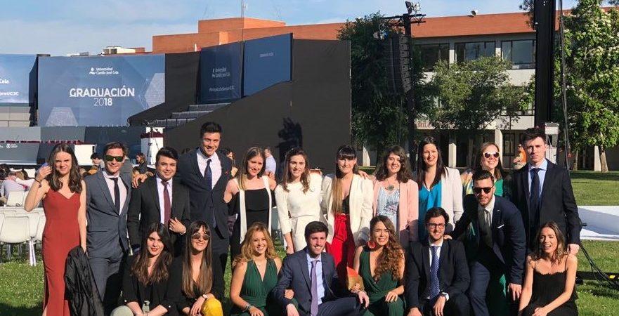 Graduación de los alumnos de Máster en Marketing Digital, Comunicación y Redes Sociales de la UCJC
