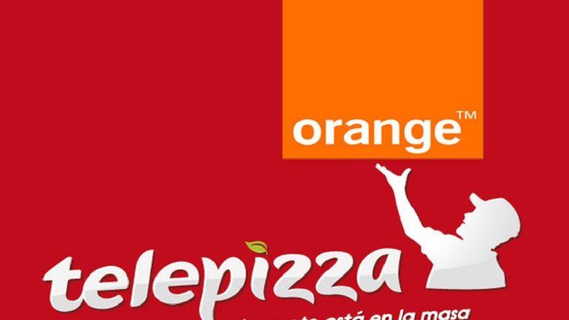 Orange será la proveedora de servicios móviles de Telepizza