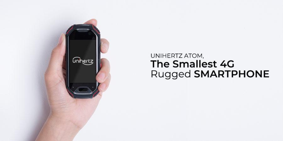 Atom se declara como el smartphone Android más pequeño del mundo