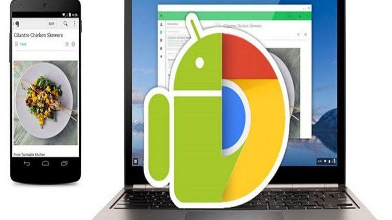Google concretará interconexión ente Android y Chrome OS